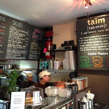 Taim Falafel feature image