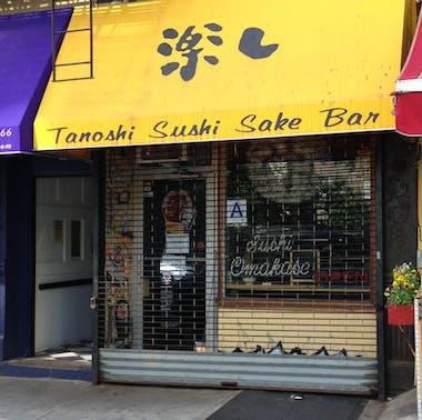 Tanoshi Sushi feature image